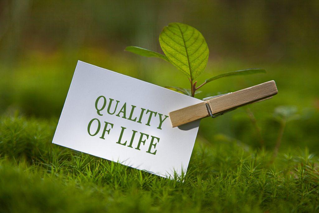 QUALITY OVER QUANTITY…..OF LIFE